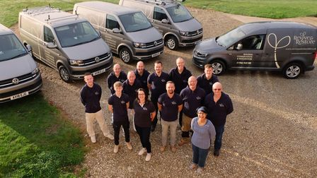 One of the teams at Revive and Restore Picture: REVIVE AND RESTORE