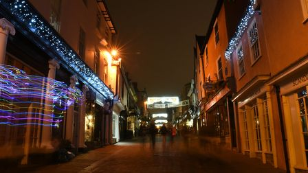 Christmas has arrived in Bury St Edmunds Picture: SARAH LUCY BROWN