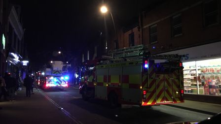 Four fire crews were deployed to the scene, but only two arrived Picture: MEGAN ALDOUS