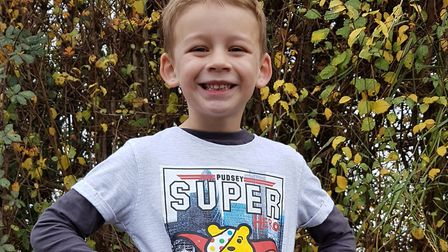 Joshua Harper Joshua has raised over £1000 with his fundraising for Children in Need. Pictur