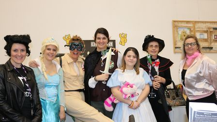 There was a Hollywood theme to One sixth form's Children in Need fundraising Picture: FRANCES VICKER