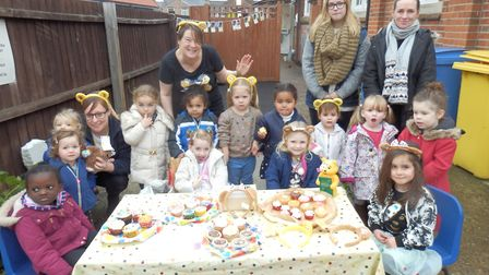 Nursery pupils in Colchester sold over £100 worth of cakes Picture: SIR BOB RUSSELL