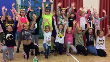Classes from Heath Primary School have been dancing throughout the day Picture: DANIEL INGLEBY