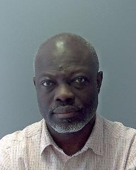 Joseph Achina, of Ipswich, former manager of Boots pharmacy at Stowmarket Health Centre, who was jai