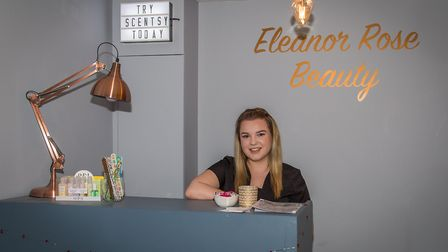 Eleanor Mann's business was hit by thieves this week Picture: CHARLES MANN