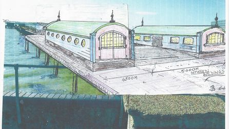 The new Victorian-inspired vision for Shotley Pier Picture: JOHN BOWEN