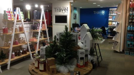 Christmas displays in Coes. Picture: JUDY RIMMER
