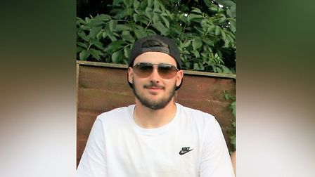 Robbie Trundley, 20, from Biggleswade, died in a crash in Salmons Corner in Coggeshall last week Pic