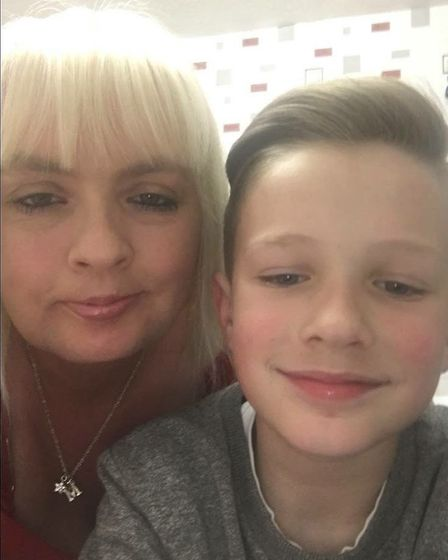 """Saria Siggers and her son, Dexter. Ms Siggers was described by her family as a """"bubbly woman who liv"""