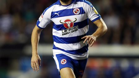 Reading's Marc McNulty. Picture: PA