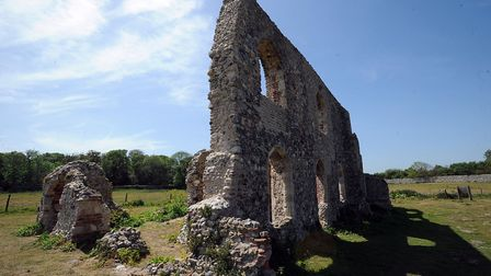 NEWS Pix Phil Morley 23/5/11 Dunwich Greyfriars Trust are proposing to manage the historic remai