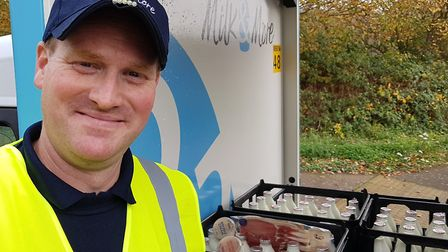 Gavin has been a milkman for most of his life. Picture: RACHEL EDGE