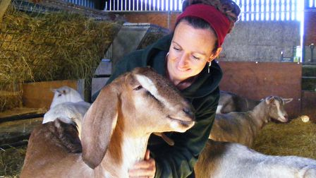 Mrs Goff's family were goat farmes. After leaving the family home and working as a teacher, she and