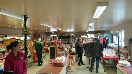 Friday Street Farm Shop is holding a Christmas Food Fair with Bill Turnbull as a special guest Credi
