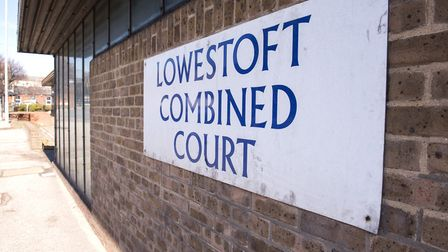 The former Lowestoft Magistrates' Court building. Picture: NICK BUTCHER