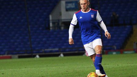 Danny Rowe could be in action for Ipswich Town's U23s again tomorrow. Photo: Ross Halls