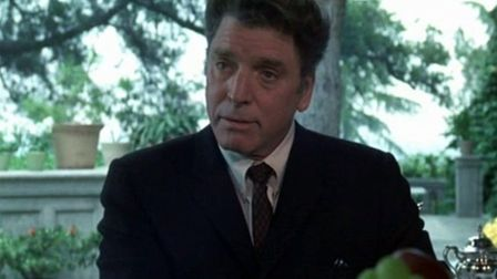 Burt Lancaster in the Kennedy conspiracy theory drama Executive Action Photo Warner Bros