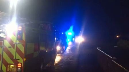 Fire engines were sent to the town centre tower block on at least two occasions on December 16 Pictu