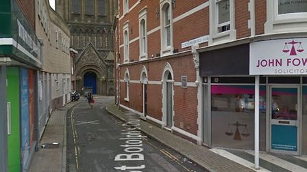 The assault is reported to have happened in St Botolph's Church Walk Picture: GOOGLE