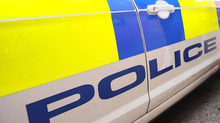 Police arrest a driver after his lorry crashes into the central reservation of the A14 at Ipswich's