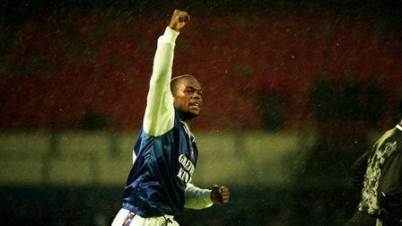 David Johnson scored twice as Town beat West Brom in 1998