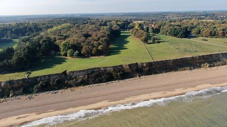 The beach at Greyfriars, Dunwich. Pic: www.muskermcintyre.co.uk