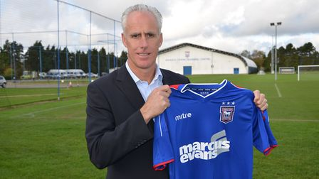Mick McCarthy took over as Ipswich Town manager in 2012 with the Blues bottom of the table.