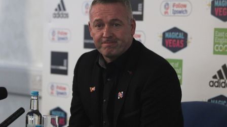 Now Paul Lambert takes over as Ipswich boss with the Blues bottom once again. Picture: ROSS HALLS