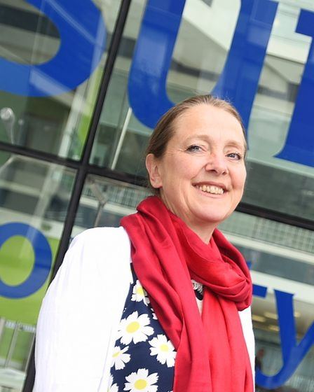 Labour group leader Sarah Adams said the council was struggling to stay afloat Picture: GREGG BROWN