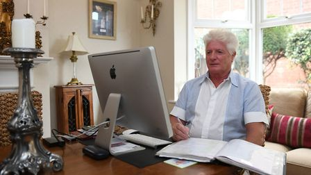 Pageantmaster and Battle's Over organiser Bruno Peek, 67, planning the Battles Over tribute to the
