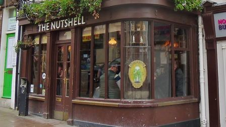 The Nutshell Pub in Bury St Edmunds has stories of a ghost child. Picture: PETER BASH