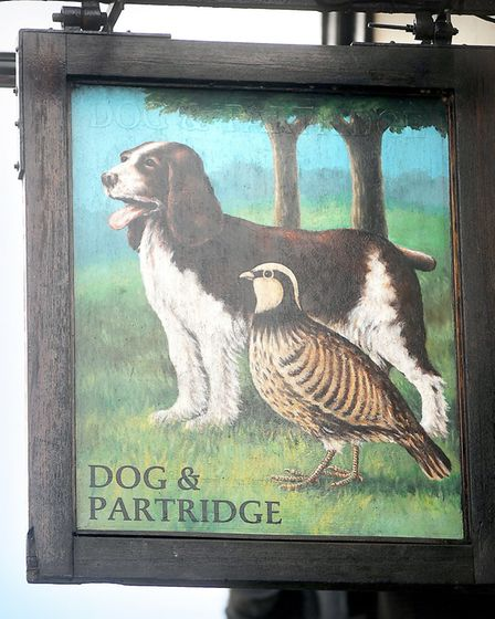 The Dog & Partridge is known for its spooky story. Picture: GREGG BROWN