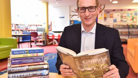 Bruce Leeke, chief executive of Suffolk Libraries. Picture: SONYA DUNCAN