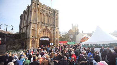 One of the recommendations for the Bury St Edmunds Christmas Fayre is to rotate stalls each year Pic