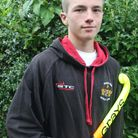 Felixstowe's Sam Wash is the first hockey player from Felixstowe to be picked for England. Picture: