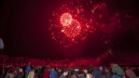 The Abbey Garden fireworks display has been going for over a decade. Picture: ASHLEY PICKERING