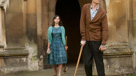 Eddie Redmayne and Felicity Jones in The Theory of Everything. Photo: Working Title