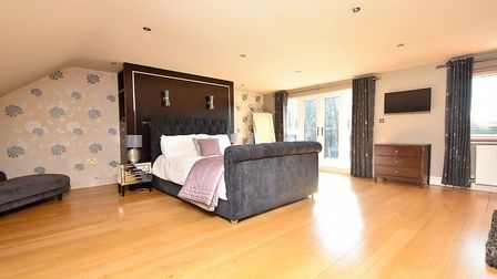 One of the spacious bedrooms Picture: FENN WRIGHT