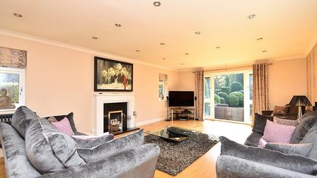 The spacious living room Picture: FENN WRIGHT
