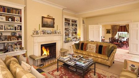 Inside Sutton Hall which sold along with the estate for in excess of �31.5 millin. Pic; www.knightfr