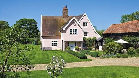 One of the 11 properties on the Sutton Hall estate. The estate sold for in excess of �31.5 million.