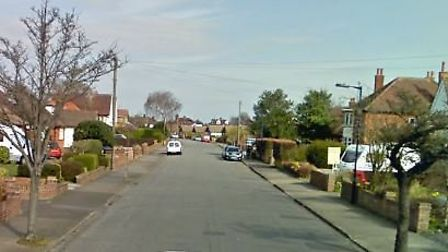The man approached and grabbed the two-year-old girl around the wrist on Dellwood Avenue Picture: GO