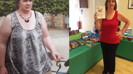 Before and after Nathalie Alderton Picture: WW