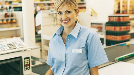 Workers in the retail sector are among those who could be entitled to tax rebates. Picture: GETTY/IS