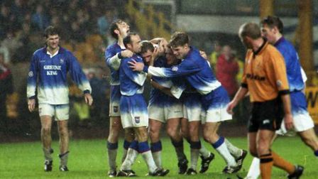 Tony Mowbray scored a late equaliser as the Blues drew 2-2 with Wolves on this day in 1995