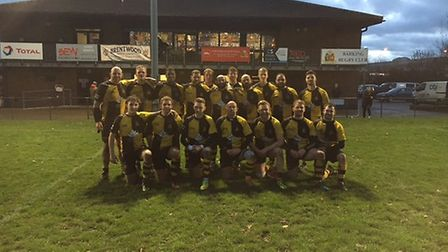 The Braintree rugby side who enjoyed a fine win at Barking. Picture: BRAINTREE RUFC
