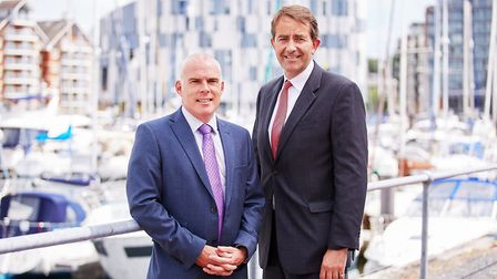 Rob Thomson of Grant Thornton and Jonathan Agar of Birketts. Picture: Grant Thornton
