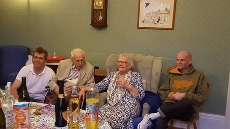 Jim and his wife Mary have been married for seven decades Picture: HEALTHCARE HOMES