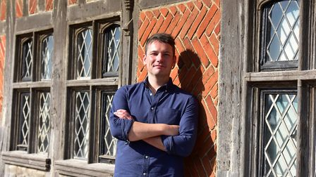 Steven Atkinson, the co-founder and out-going artistic director of the Hightide Theatre Festival in