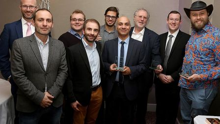 Winners of the KTP Essex awards: Antonio Campello, Applied Machine Learning Scientist at Filament AI